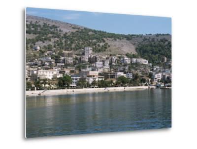 Coastline at Saranda, Albania-R H Productions-Metal Print