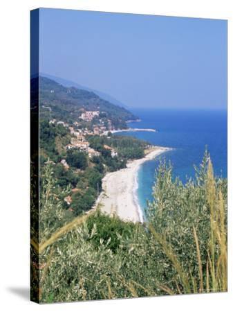 Damouchari, Looking Towards Agios Ioannis, Pelion, Greece-R H Productions-Stretched Canvas Print