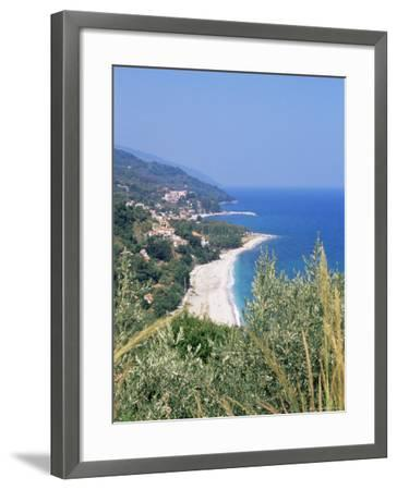 Damouchari, Looking Towards Agios Ioannis, Pelion, Greece-R H Productions-Framed Photographic Print
