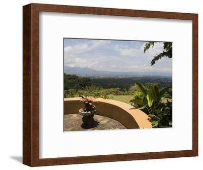 Xandari Hotel, San Jose, Costa Rica, Central America-R H Productions-Framed Photographic Print