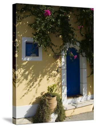 Assos, Kefalonia (Cephalonia), Ionian Islands, Greece-R H Productions-Stretched Canvas Print