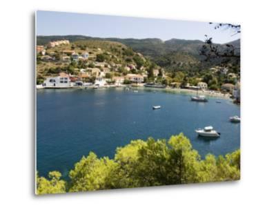 Assos, Kefalonia (Cephalonia), Ionian Islands, Greece-R H Productions-Metal Print
