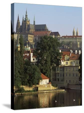 St. Vitus Cathedral and Castle, Prague, Czech Republic-Upperhall-Stretched Canvas Print