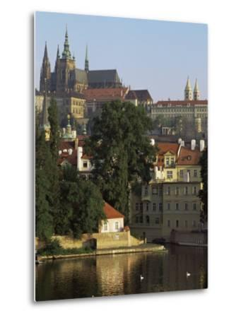 St. Vitus Cathedral and Castle, Prague, Czech Republic-Upperhall-Metal Print