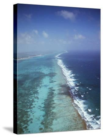 Ambergris Cay, Near San Pedro, the Second Longest Reef in the World, Belize, Central America-Upperhall-Stretched Canvas Print