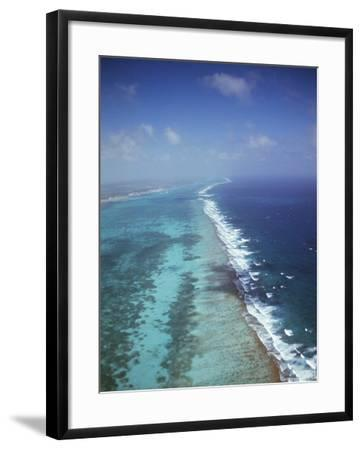 Ambergris Cay, Near San Pedro, the Second Longest Reef in the World, Belize, Central America-Upperhall-Framed Photographic Print