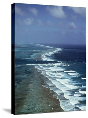 Ambergris Cay, Second Longest Reef in the World, Near San Pedro, Belize, Central America-Upperhall-Stretched Canvas Print