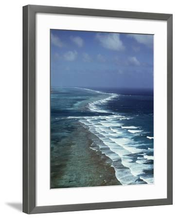 Ambergris Cay, Second Longest Reef in the World, Near San Pedro, Belize, Central America-Upperhall-Framed Photographic Print
