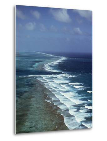 Ambergris Cay, Second Longest Reef in the World, Near San Pedro, Belize, Central America-Upperhall-Metal Print