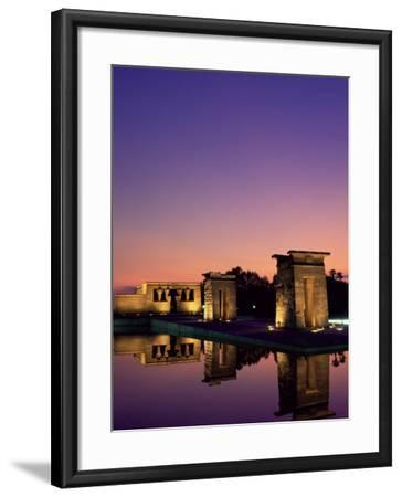 Templo De Debod, Madrid, Spain-Upperhall-Framed Photographic Print