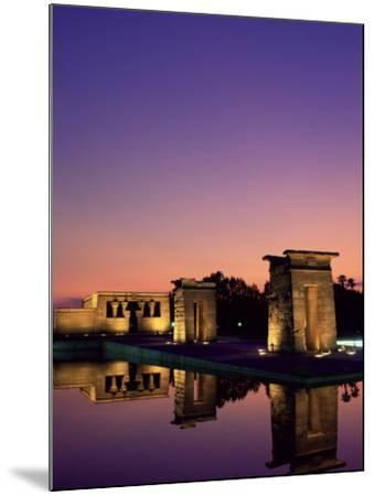 Templo De Debod, Madrid, Spain-Upperhall-Mounted Photographic Print