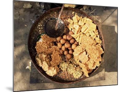 Snacks, Covered in Batter, Mingun, Myanmar (Burma)-Upperhall-Mounted Photographic Print