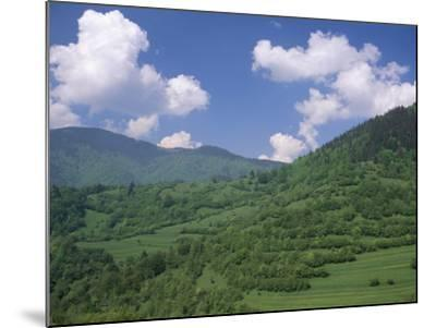 Typical Hilly Landscape, Vlkonec, Liptov Region, Slovakia-Upperhall-Mounted Photographic Print