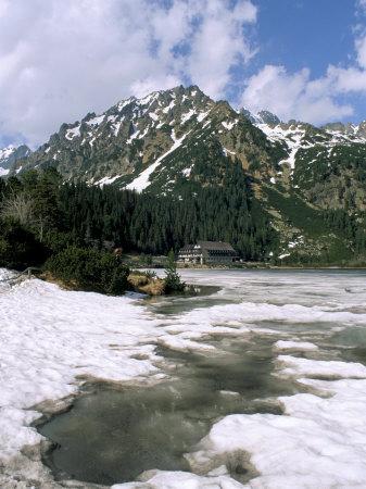 Popradske Pleso (Lake), High Tatra Mountains, Slovakia-Upperhall-Framed Photographic Print