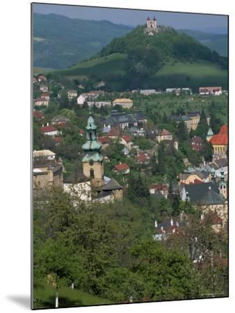View Over the Town, Banska Stiavnica, Unesco World Heritage Site, Slovakia-Upperhall-Mounted Photographic Print