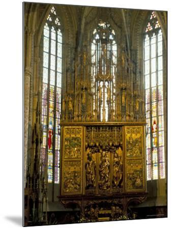Altar in 14th Century Church of St. Jacob, Levoca, Slovakia-Upperhall-Mounted Photographic Print