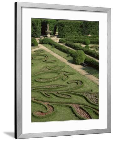 Garden of Flora, Kromeriz Palace, Unesco World Heritage Site, South Moravia, Czech Republic-Upperhall-Framed Photographic Print