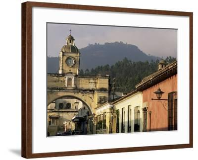 Arch of Santa Catalina, Dating from 1609, Antigua, Unesco World Heritage Site, Guatemala-Upperhall-Framed Photographic Print