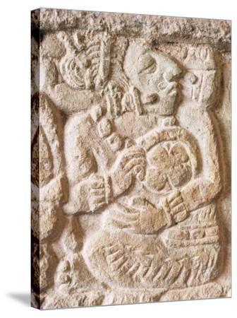 Detail, Structure 9N-82, Copan, Unesco World Heritage Site, Honduras, Central America-Upperhall-Stretched Canvas Print
