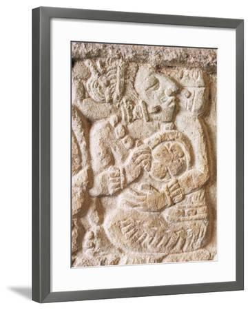Detail, Structure 9N-82, Copan, Unesco World Heritage Site, Honduras, Central America-Upperhall-Framed Photographic Print
