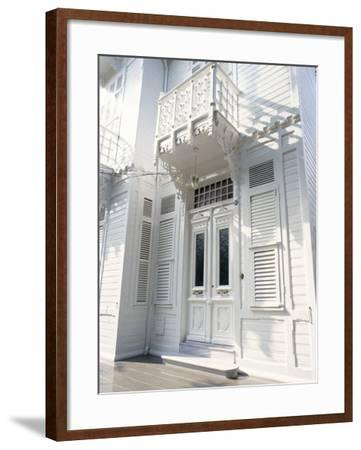 Traditional Wooden House, Buyuk Ada, Princes Islands, Turkey-Upperhall-Framed Photographic Print