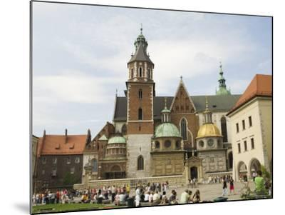 Wawel Cathedral, Royal Castle Area, Krakow (Cracow), Unesco World Heritage Site, Poland-R H Productions-Mounted Photographic Print