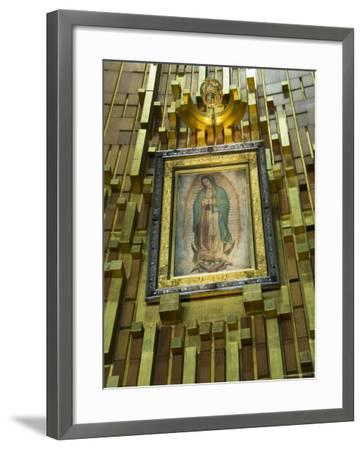 Basilica De Guadalupe, a Famous Pilgramage Center, Mexico City, Mexico, North America-R H Productions-Framed Photographic Print
