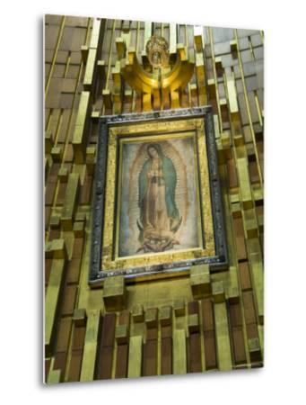Basilica De Guadalupe, a Famous Pilgramage Center, Mexico City, Mexico, North America-R H Productions-Metal Print