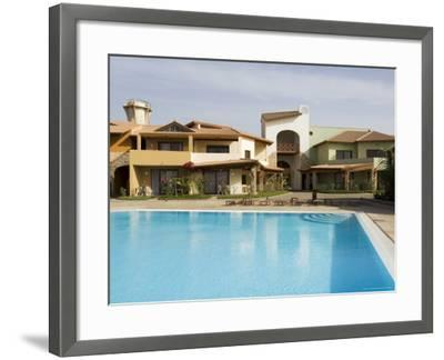 New Development for Booming Property Market, Santa Maria, Sal (Salt), Cape Verde Islands, Africa-R H Productions-Framed Photographic Print
