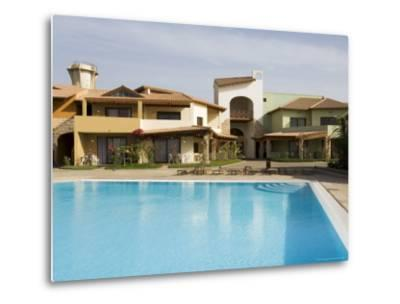 New Development for Booming Property Market, Santa Maria, Sal (Salt), Cape Verde Islands, Africa-R H Productions-Metal Print