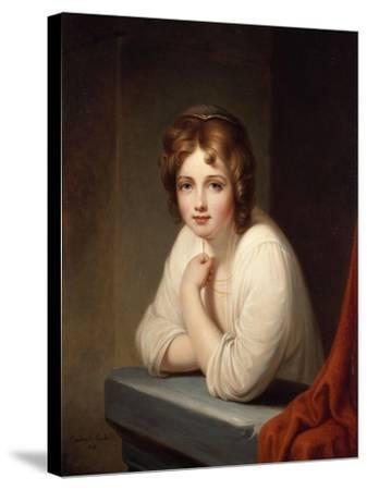 Rosalba, 1846-Frederic Edwin Church-Stretched Canvas Print