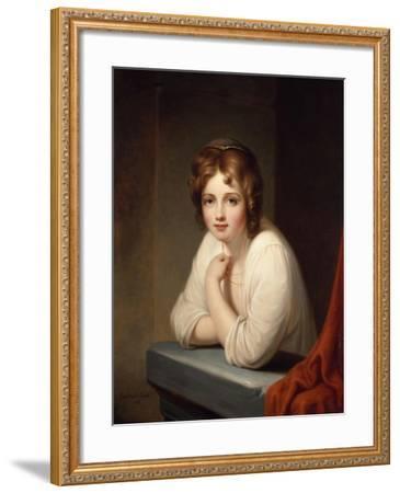 Rosalba, 1846-Frederic Edwin Church-Framed Giclee Print
