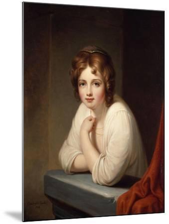 Rosalba, 1846-Frederic Edwin Church-Mounted Giclee Print