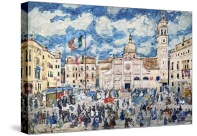 Camp Santa Maria Formosa, Venice, Circa 1898-Henry Alexander-Stretched Canvas Print