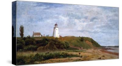 New London, Connecticut-Eug?ne Boudin-Stretched Canvas Print