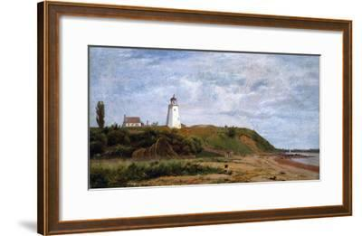 New London, Connecticut-Eug?ne Boudin-Framed Giclee Print