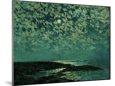 Moonlight, Isle of Shoals, 1892-Childe Hassam-Mounted Giclee Print