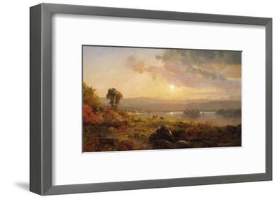 Autumn Sunset, 1876-Jasper Francis Cropsey-Framed Giclee Print