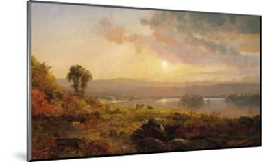 Autumn Sunset, 1876-Jasper Francis Cropsey-Mounted Giclee Print