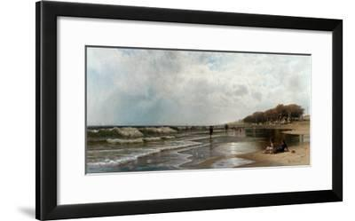 Long Branch, New Jersey, 1880-Alfred Thompson Bricher-Framed Giclee Print