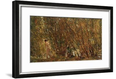 Under the Alders, 1904-Jean-Baptiste-Camille Corot-Framed Giclee Print