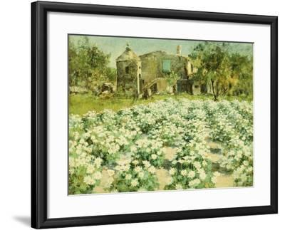 A Normandy Farmhouse-George Hitchcock-Framed Giclee Print