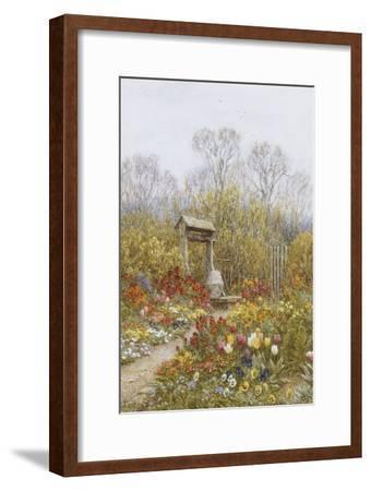 An Old Well, Brook, Surrey-Helen Allingham-Framed Premium Giclee Print