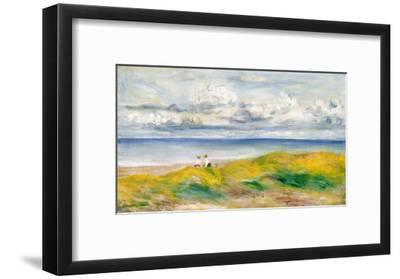 On the Cliffs, 1880-Pierre-Auguste Renoir-Framed Giclee Print