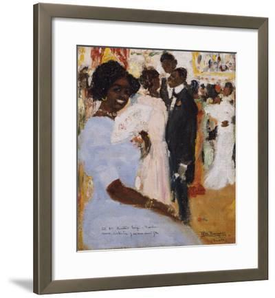 Negro Ball, 1912-Jose Agustin Arrieta-Framed Giclee Print