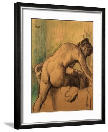 The Bath, 1883-Alfred Thompson Bricher-Framed Giclee Print