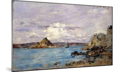 Douarnenez: the Bay (Draft); La Baie (Esquisse), 1895-1897-Eug?ne Boudin-Mounted Giclee Print