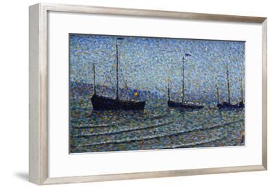 Heist, Belgium, Heyst, Circa 1891-Frederic Edwin Church-Framed Giclee Print