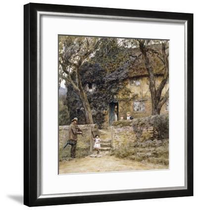 The Fiddler-Helen Allingham-Framed Giclee Print
