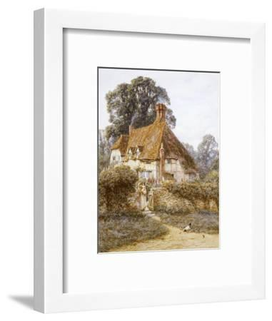 Near Witley, Surrey-Helen Allingham-Framed Premium Giclee Print